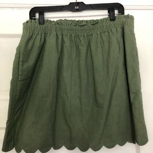 Gorgeous J Crew skirt with pockets